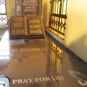 Blessed Daswa tombstone -Nweli